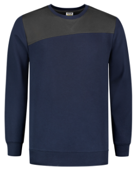 Tricorp Bicolor Naden Sweater | 70% Katoen/30% Polyester | 280 g/m2